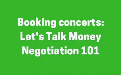 Negotiating Fees: the money episode