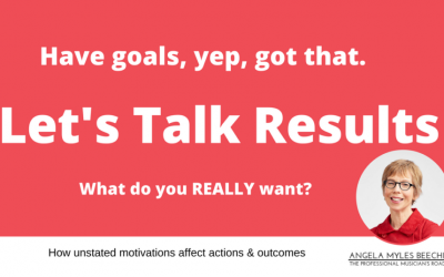 Are your actions & goals aligned with the results you want?