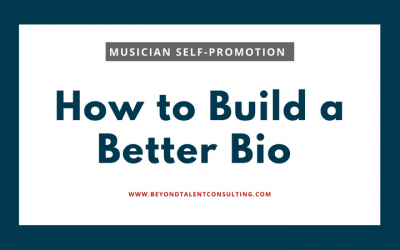 How to Build a Better Bio — Musicians, Can We Get Real?