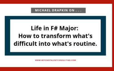 Michael Drapkin on Life in F# Major