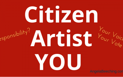 You're an artist AND a citizen — VOTE