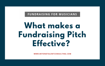 How to improve your fundraising pitches