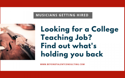 3 Biggest Obstacles Between You and Your Next College Teaching Job