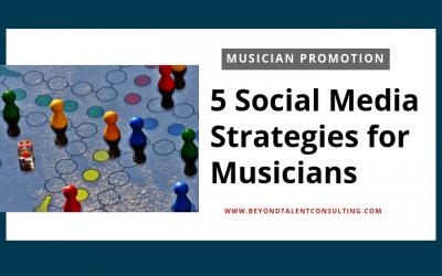 5 Social Media Strategies for Musicians
