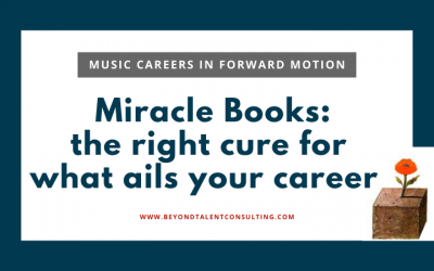 Miracle books for musicians — answers for what you need NOW