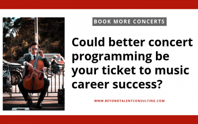 To book more concerts check your programming!